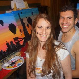 Paint Date - דייט, אלכוהול וציור למזכרת
