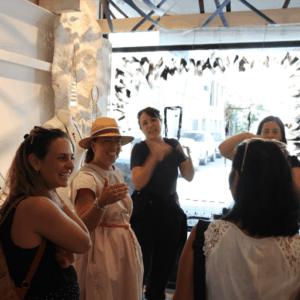 סיור אופנה ועיצוב בשוק הפשפשים ונגה
