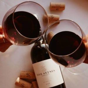 מארז הגשת יין