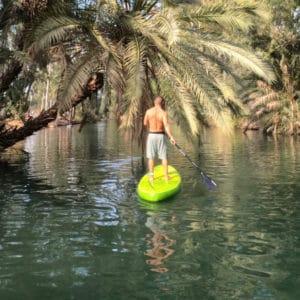 סאפ ויוגה בנהר הירדן