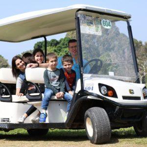 שעה על רכב גולף בפארק הירקון