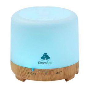 דפיוזר חשמלי מפיץ ריח לאווירה בבית