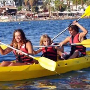 לצאת לספורט ימי באילת