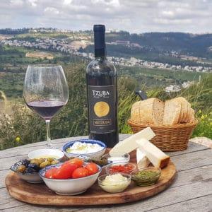ביקור וטעימות יין ביקב צובה
