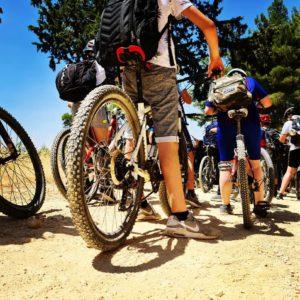 טיול אופניים ביער עמינדב