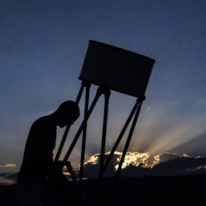 תצפית אסטרונומית לילית